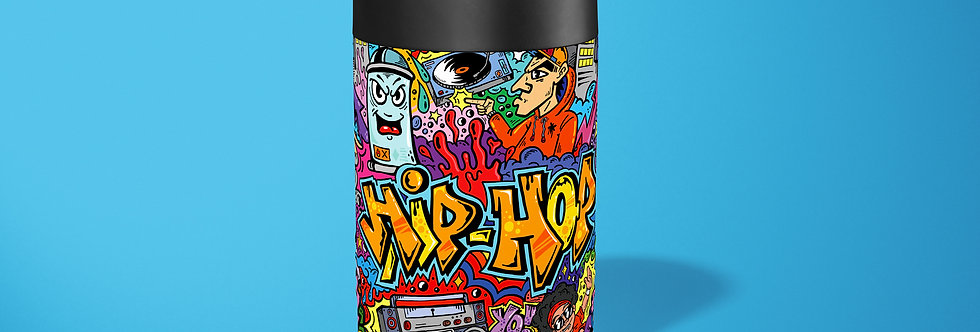 Graffiti Old School Beer Can Holder