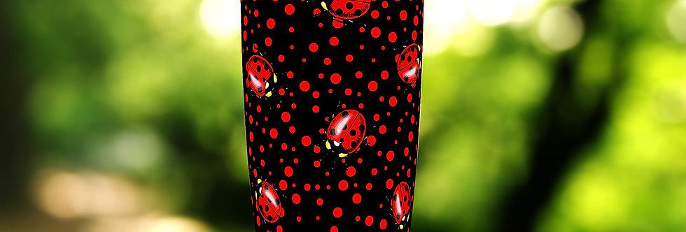 Red Polka Dot Ladybug 20oz Tumbler