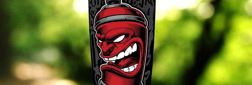 Graffiti Red Can 20oz Tumbler