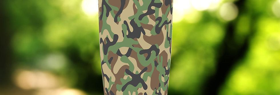 Camo Army Green 20oz Tumbler