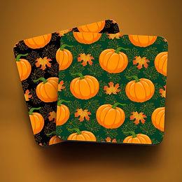 Pumpkin Drink Coasters