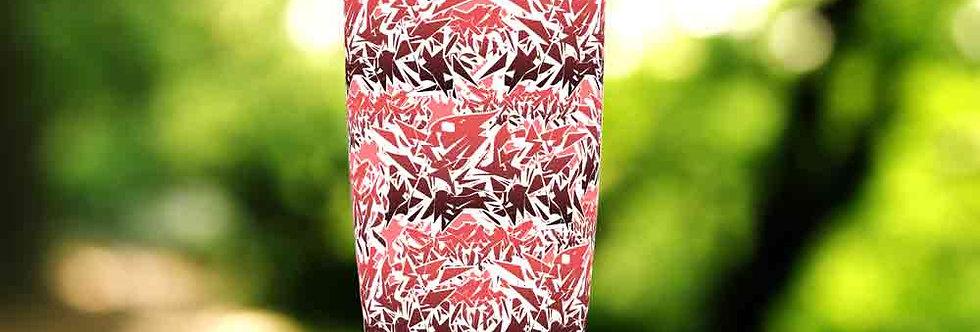 Graffiti Red Tag 20oz Tumbler