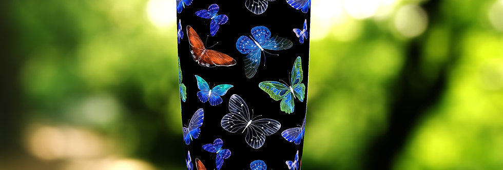 Night Butterflies 20oz Tumbler