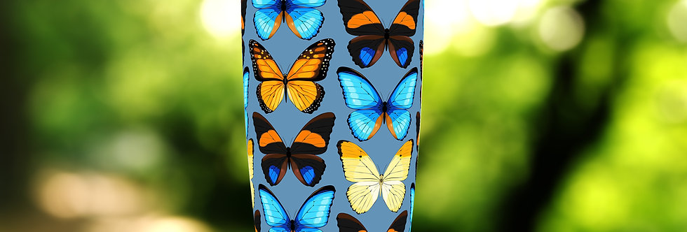 Butterfly Ring 20oz Tumbler