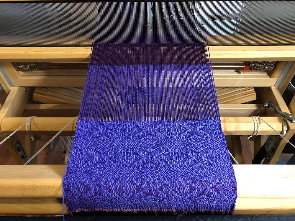 purple scarf, 2019
