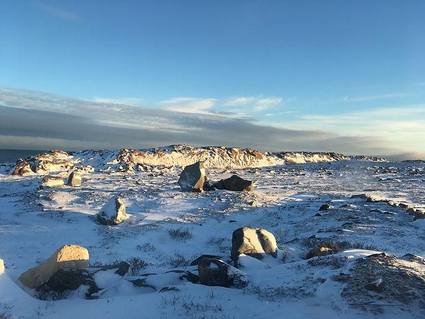 Churchill morning landscape