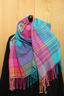 Color and Drape scarf