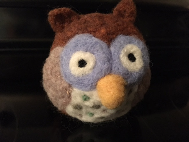 Hoot, 2018 for Wooly Wednesday class