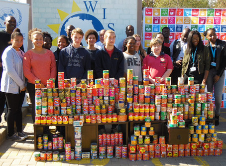 Nelson Mandela Day Canned Food Drive.