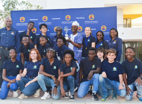 Windhoek International School wins NUST Brain Match!
