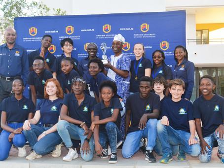 Windhoek International School wins NUST Brain Match!
