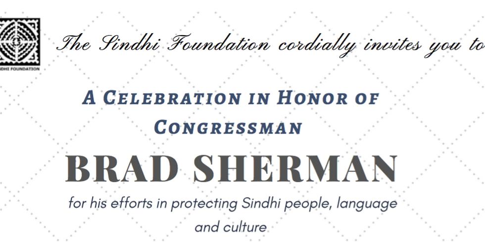 A Celebration In Honor of Congressman Brad Sherman