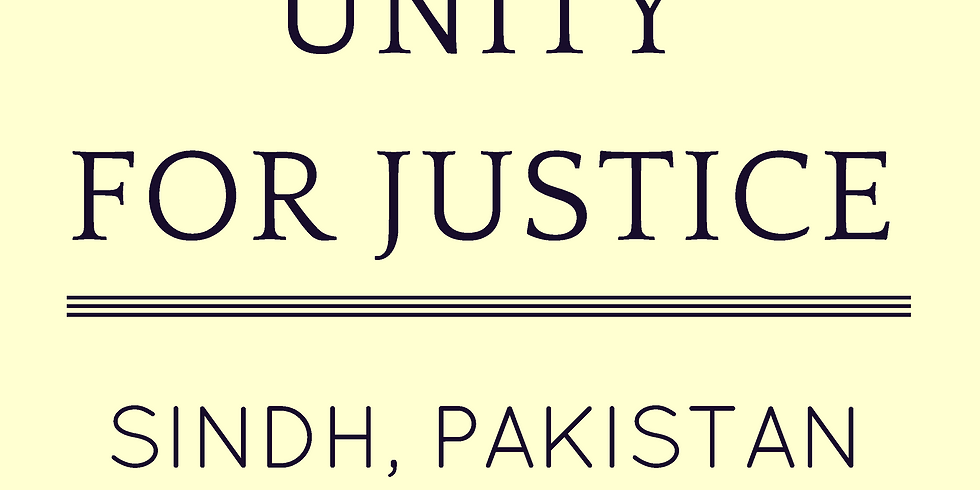 Unity for Justice, Sindh, Pakistan