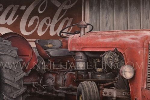 Vintage Red, Limited Edition Prints (Giclee)