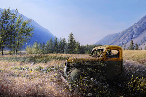 Piece In The Valley, Limited Edition Print (Giclee)