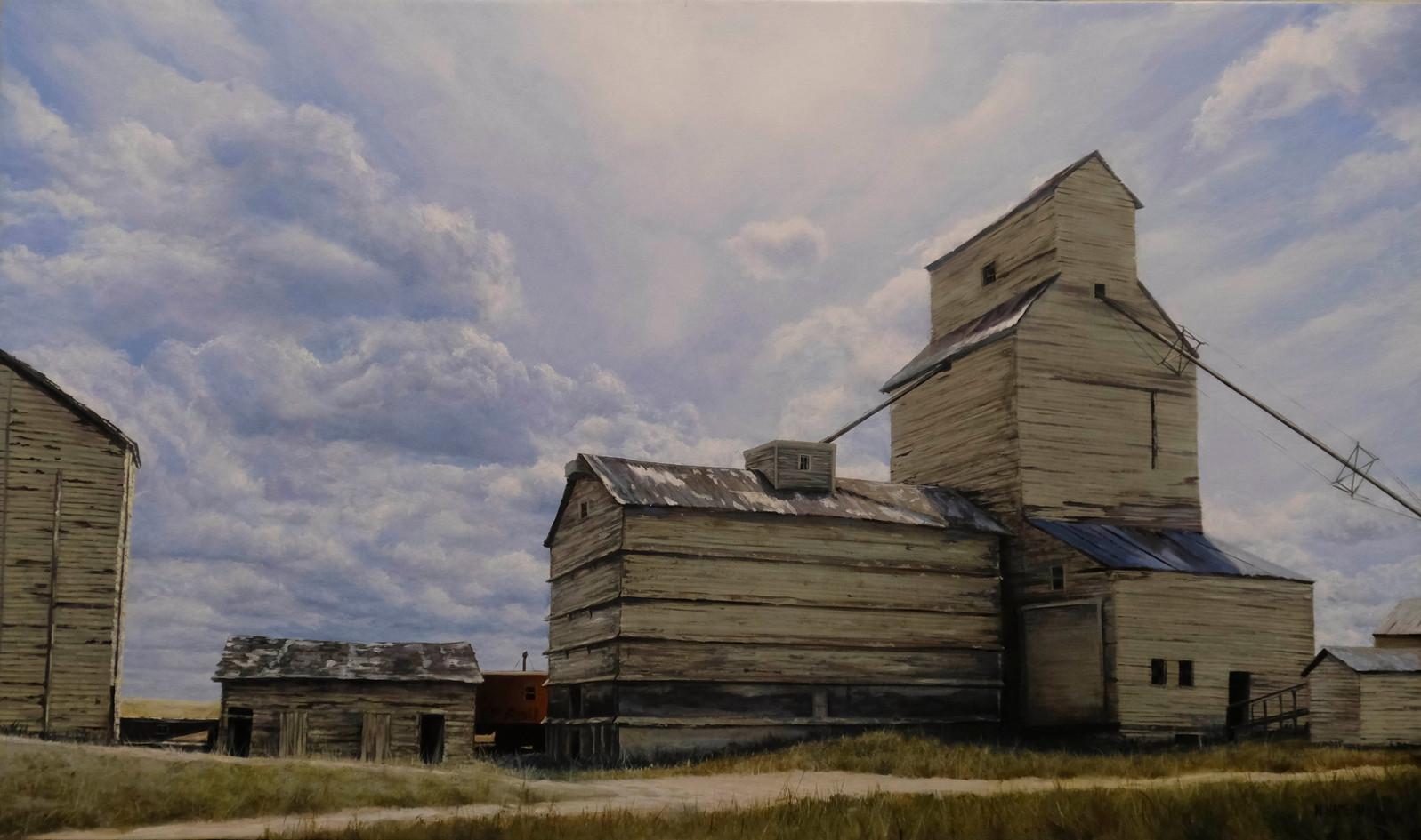 Mossleigh, AB Grain Elevator-SOLD