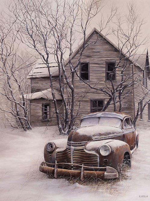 Frozen In Time, Limited Edition Print