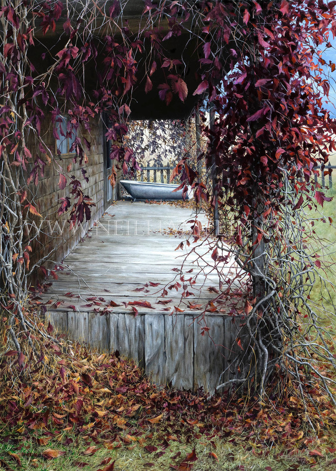 Leaves Are Falling All Around (SOLD)
