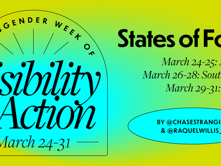 Trans Week of Action & Visibility