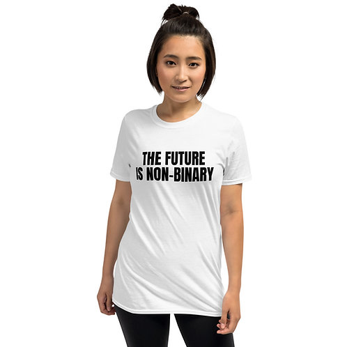 The Future is Non-Binary t-shirt - LIGHT