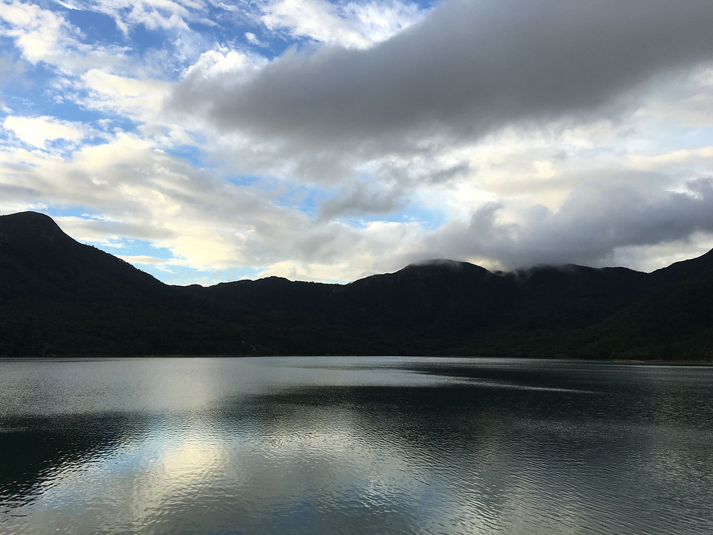 Rapid Changing Weather at Shek Pik Water Reservoir