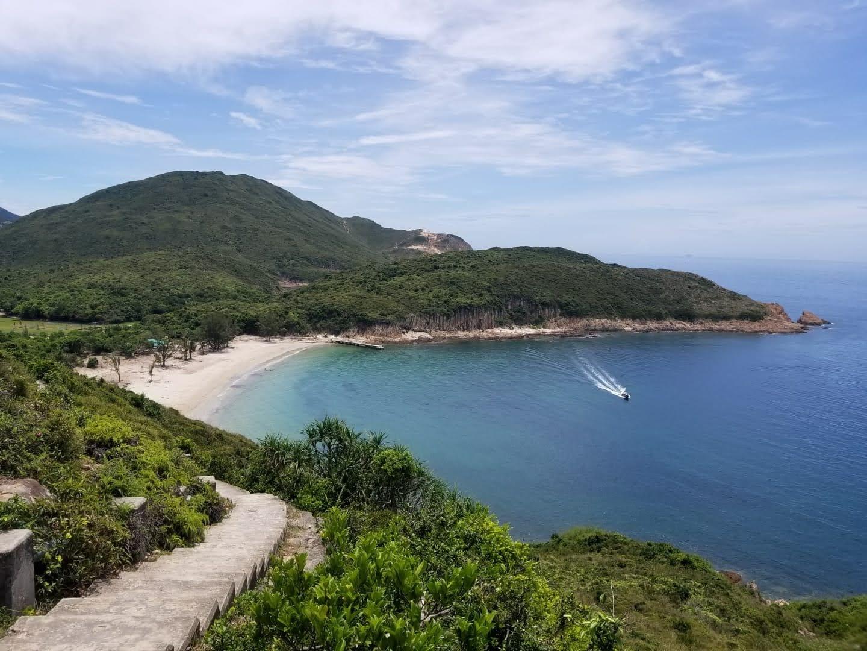 Trail to Pak Lap Beach