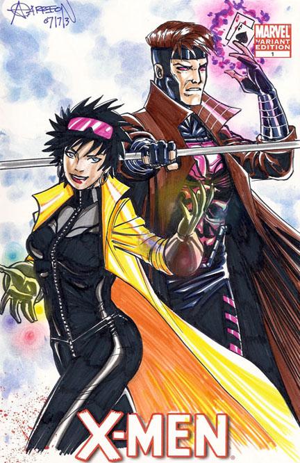 Gambit&Jubilee