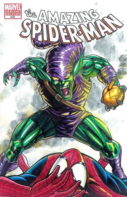SpidermanVsGreenGoblin