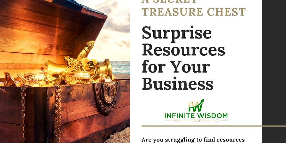 A Secret Treasure Chest: Surprise Resources for Your Business