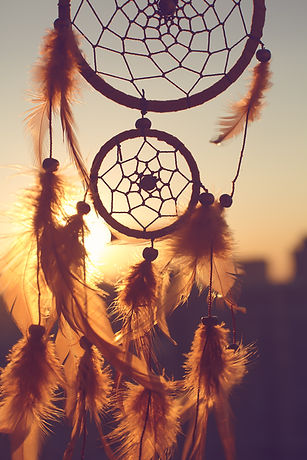 Dreamcatcher sunset , the mountains,cont