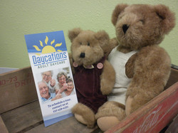 Daycations adult day care brochure