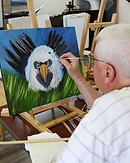 Daycations Adult Daycare painting class