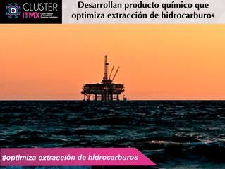Desarrollan producto químico que optimiza extracción de hidrocarburos