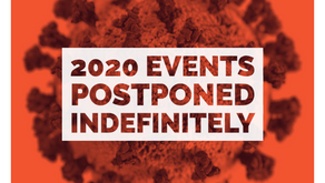 All Events For 2020 Are Postponed Indefinitely