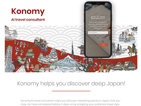 WOW Uの新サービス「Konomy」のテスト版を公開しました