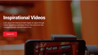 動画で誘客!?訪日旅行客の「旅先」や「体験」の選択肢を広げる動画サービスを開始 〜「旅マエ」や「旅ナカ」の訪日外国人観光客の体験を、より充実したものにするWOW U-videos〜