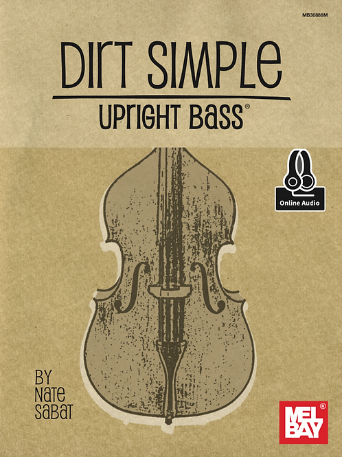 Dirt Simple Upright Bass (Book)