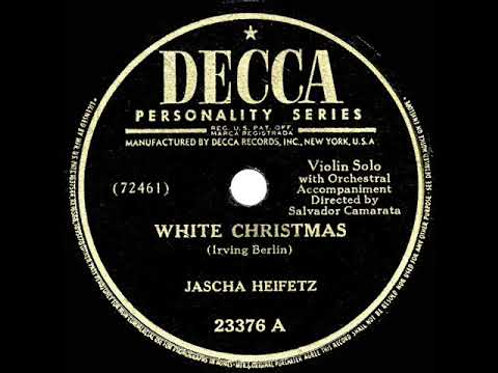 Heifetz' White Christmas - For Violin & Piano (PDF)