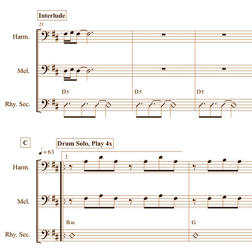New America - Bass Quartet Arrangement (PDF)