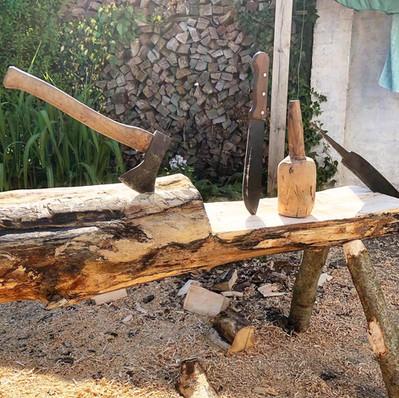 Værktøjet står altid klar til næste projekt