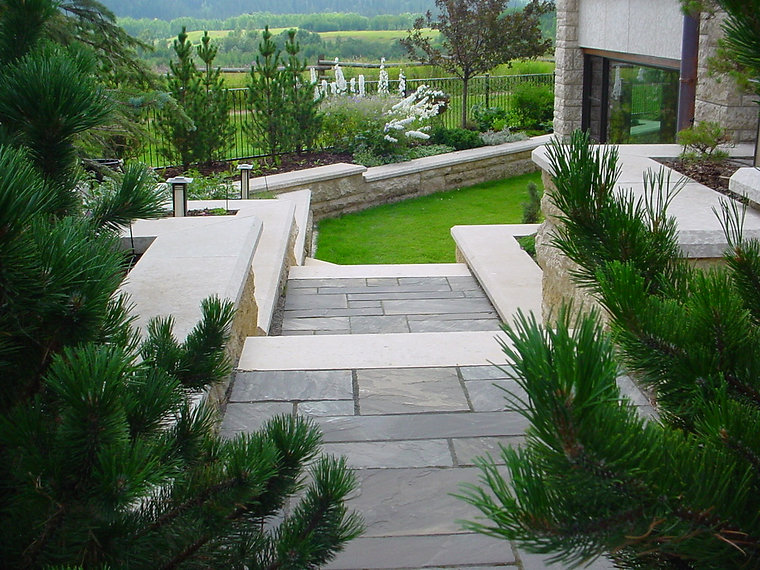 Trees, Shrubs, Perennials, Natural Stone, Walls, Lighting,