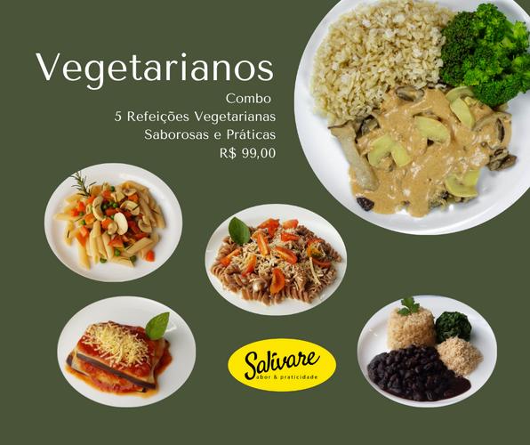 Combo Vegetariano Salivare