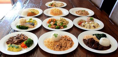 Kit 10 refeições à sua escolha + 1GRÁTIS