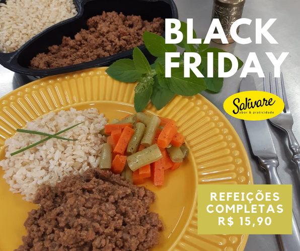 Combo 5 refeições Black Friday