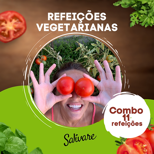 Combo Vegetariano - 11 Refeições
