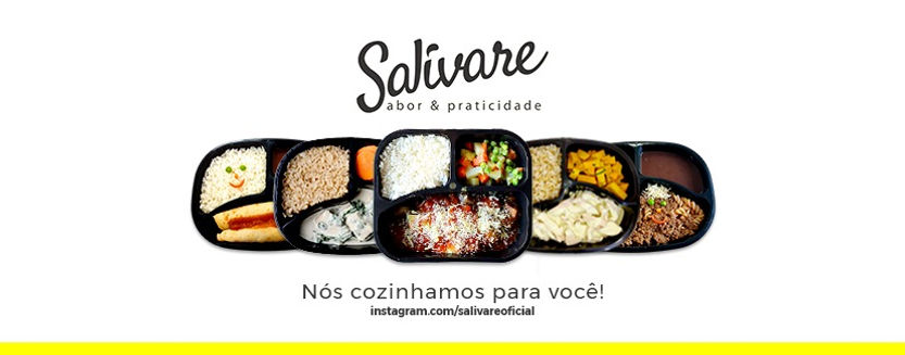 Salivare comida congelada Porto Alegre e São Paulo