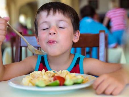 Refeições nutritivas para seus pimpolhos