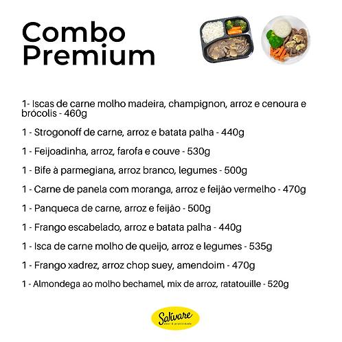 Combo Premium - 10 Refeições