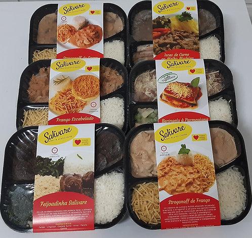 Kit 20 refeições à sua escolha