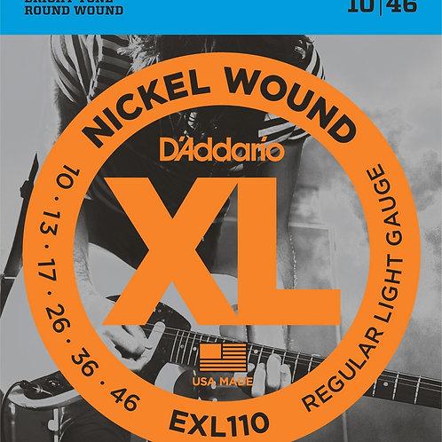 Струны для электрогитары D'Addario EXL110
